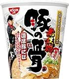 日清 有名店シリーズ 無鉄砲 × 豚の骨 濃厚豚にぼ 1ケース(12食入)
