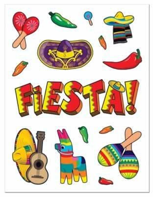 Fiesta Stickers (4 ct)