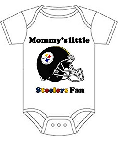 Steelers Mommys Little Fan Shirt Infant Baby Onesie 0-3 Months at Steeler Mania