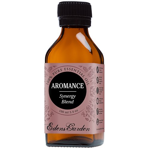 Aromance Synergy Blend Essential Oil (previously Sensation) by Edens Garden (Ylang Ylang, Patchouli, Sweet Orange, Sandalwood and Jasmine)- 100 ml