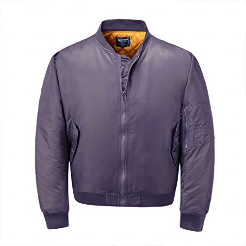 Neo-wows Men's Bomber Flight Jacket Thick 3
