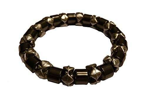 Healing Hematite Magnetic Fashion Bracelet One Size colors may vary