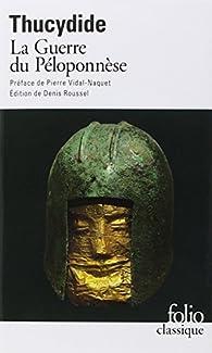 Histoire de la guerre du P�loponn�se par  Thucydide