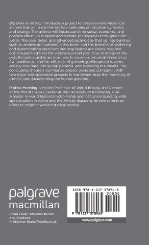 Big Data in History (Palgrave Pivot)