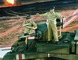 バーリンデン verlinden 2025 イギリス戦車兵 2体入り 北アフリカ 1:35 British Tankers North Africa