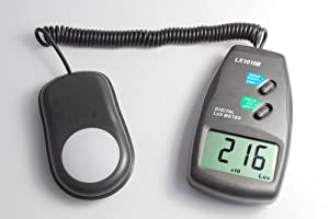 Mastech Light Meter LX1010B with lcd display 50,000 Lux Luxmeter