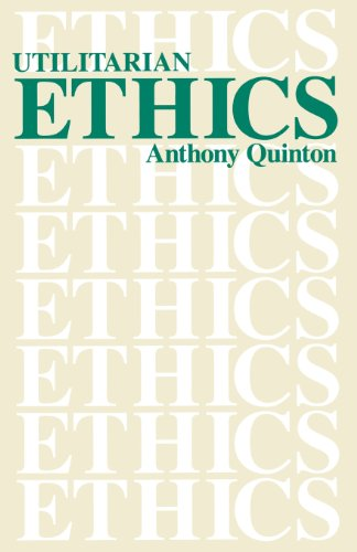 ethics utiliarism But also practically and ethically problematic to implement moreover   specifications utiliarism bentham 1789 expected-value theory ev=σ pi xi  where pi.