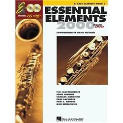 Hal Leonard Essential Elements 2000 Plus DVD Bass Clarinet Book 1