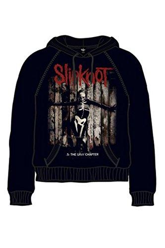 Slipknot -  Felpa con cappuccio  - Uomo nero XL
