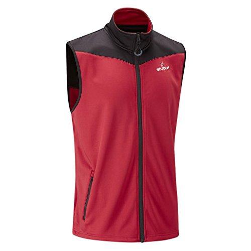 stuburt-2016-urban-bonded-full-zip-thermal-fleece-gilet-mens-waterproof-golf-vest-poppy-xl