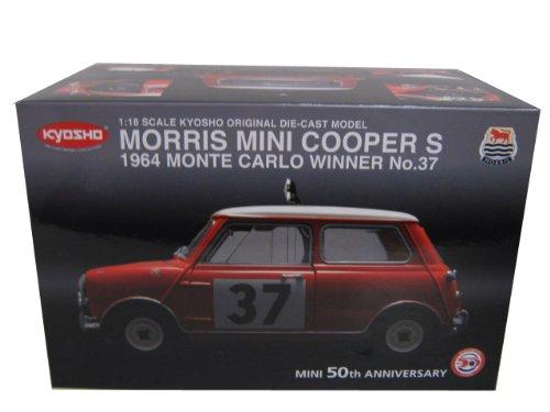 Morris Mini Cooper S 1964 Monte Carlo Winner #37 1:18 Kyosho