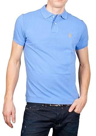 Polo Ralph Lauren - Chemise - Polo de Base - Poney Petit / petit Orange - Homme - (Xl) Bleu Ciel