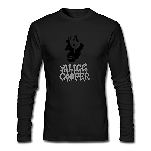 Alice Cooper Classic Printed For Mens Long Sleeves Outlet