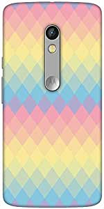 Snoogg Rainbow Clear Colourful Solid Snap On - Back Cover All Around Protecti...