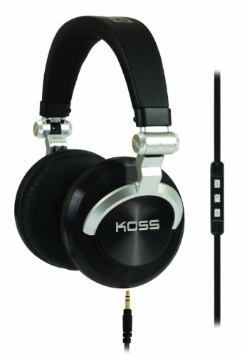 Koss PRODJ200 Full Size DJ Headphones (Black)