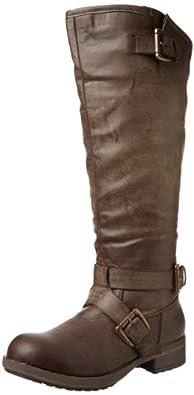 Madden Girl Women's Legacie Boot,Brown Paris,6 M US