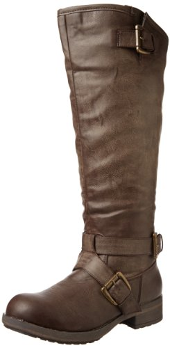 Madden Girl Women's Legacie Boot,Brown Paris,7.5 M US