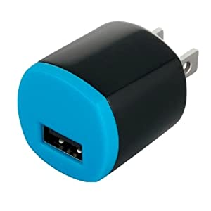 iBUFFALO USB充電器 1ポートタイプ ブルー BSIPA10BL