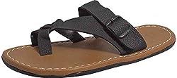 Guardian Boys Multi Leather Slippers - 8 UK