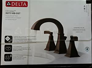 Delta Olmsted Venetian Bronze Finish Bathroom Faucet Touch On Bathroom Sink Faucets
