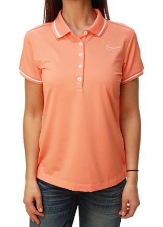 Nike Ladies Tour Performance Swoosh Golf Polo Shirt by Nike