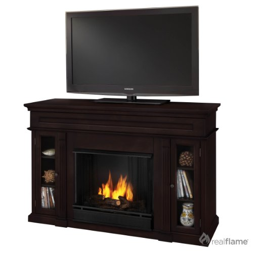 Real Flame Lannon Electric Fireplace in Dark Walnut image B005P43VMK.jpg