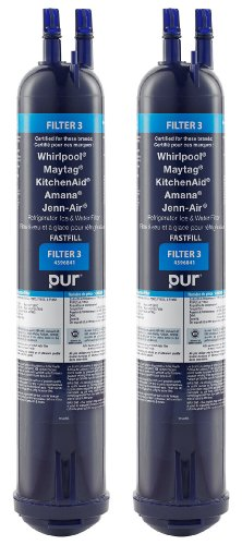 Whirlpool 4396841P PUR Push Button Side-by-Side Refrigerator Water Filter, 2-Pack picture