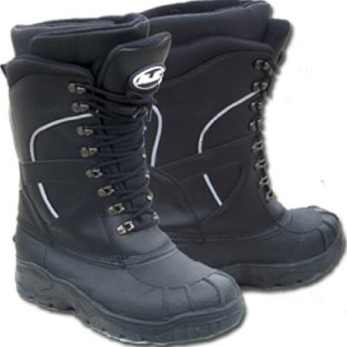 From.USA HJC Extreme Mens Snow Boots Black, Size 13