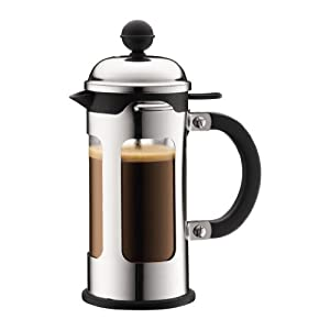Bodum Chambord Coffee Press / Cafetiere 3 Cup Chrome
