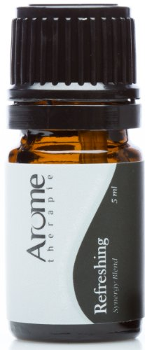 Refreshing Blend- 100% Certified Pure Therapeutic Grade Aromatherapy Synergy Blend- 5 Ml