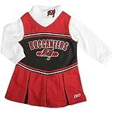 Tampa Bay Buccaneers Infant Long Sleeve Cheerleader Jumper