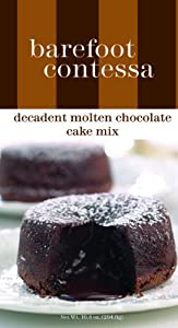 Barefoot Contessa Decadent Molten Chocolate Cake Mix, 10.4-Ounce Boxes (Pack of 3)