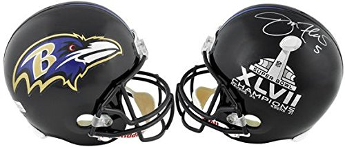 Joe Flacco Baltimore Ravens/Super Bowl XLVII Logo Riddell Replica Helmet - Fanatics Authentic Certified joe dassin eternel cd