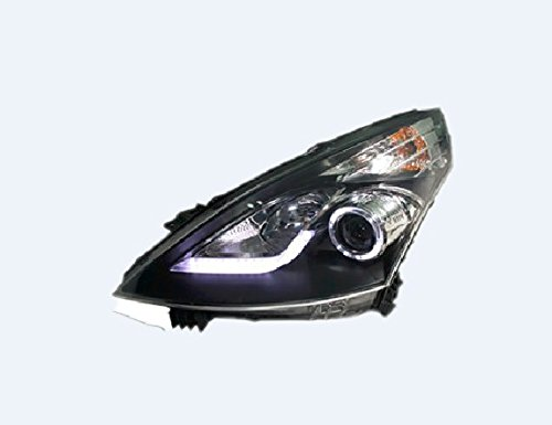 Auptech Nissan Teana 2009-2011 Headlight Assembly Angel Eyes Halogen Hid Led Projector Headlight Lamp