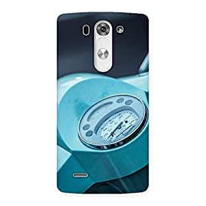 Special Scooter Meter Multicolor Back Case Cover for LG G3 Mini