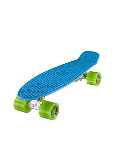 Ridge Skateboards Skateboard Original 22 Mini Cruiser Blu/Verde