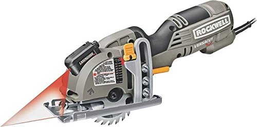 Lowest Price! New Rockwell Rk3440k Electric Compact Versacut Circular Saw Kit With Blades Sale