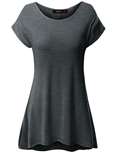 thanth-women-short-sleeve-round-neck-loose-fit-long-tunic-top-charcoal-xl