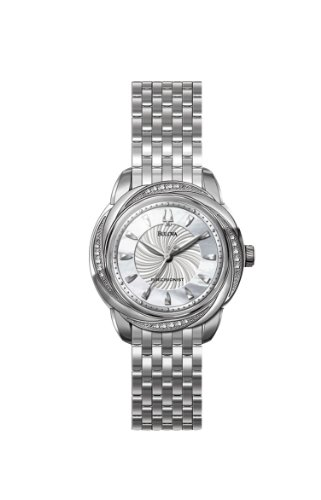 Bulova Women's 96R153 Precisionist Brightwater Swirl pattern Watch