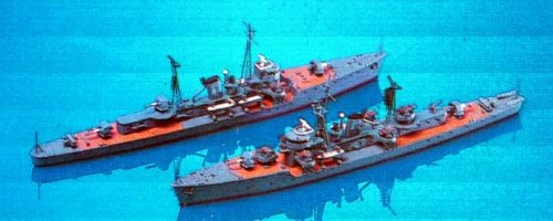Skywave 1/700 WWII IJN Escort Ship Etorof 2 Model Kit