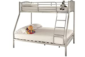 Serene Oslo Three Sleeper Bunk Bed Frame No Drawer