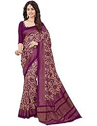 Miraan Kora Silk Saree (Vi4529_Purple)