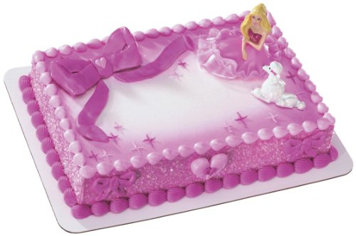DecoPac Barbie Fashion Cauc Deco Set, Pink - 1