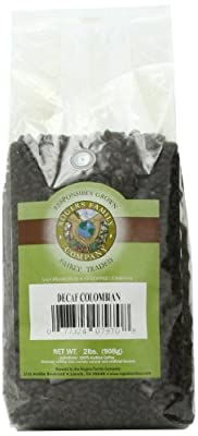 Rogers Family Company Whole Bean Coffee, Decaf Colombian, 32 Ounce