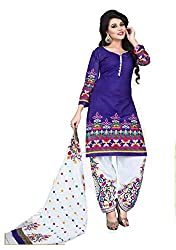 Balaji Fashion Women's cottan print suit D.NO2201_Multi-Coloured