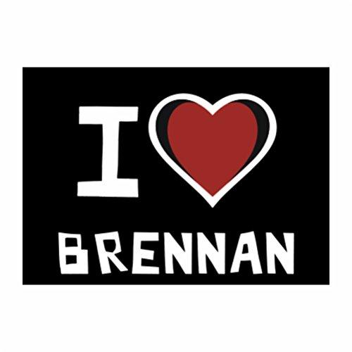 teeburon-i-love-brennan-sticker-pacchetto-di-4