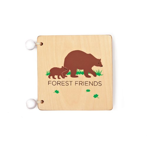 41BBMqcp1XL Buy  Kid O Forest Friends Wooden Book