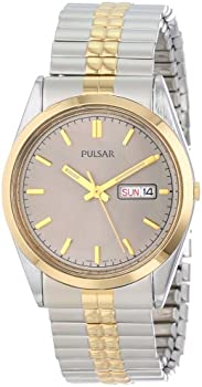 Pulsar Men's Two Tone Watch