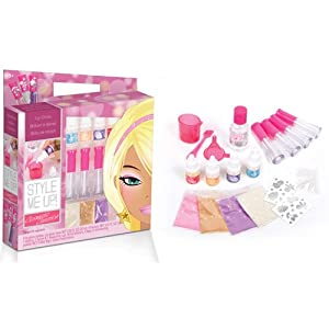 Style Me Up Cosmetic Creations Lip Gloss Toys Games