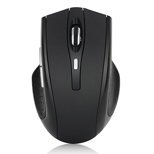 b4ef3546aa3 ESYNiC KB047 2.4GHz Wireless Optical Scroll Mouse 6 Button Full Function  800-1600DPI